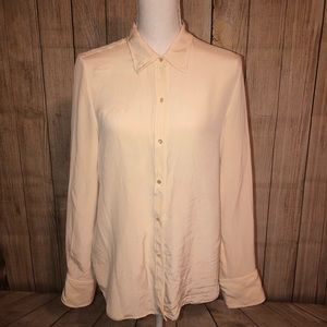 Lauren Ralph Lauren Ivory Button Up Blouse 12